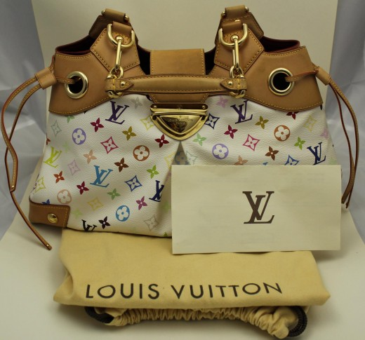 Louis Vuitton Ursula Multicolor Blanc White 3d506614c6c